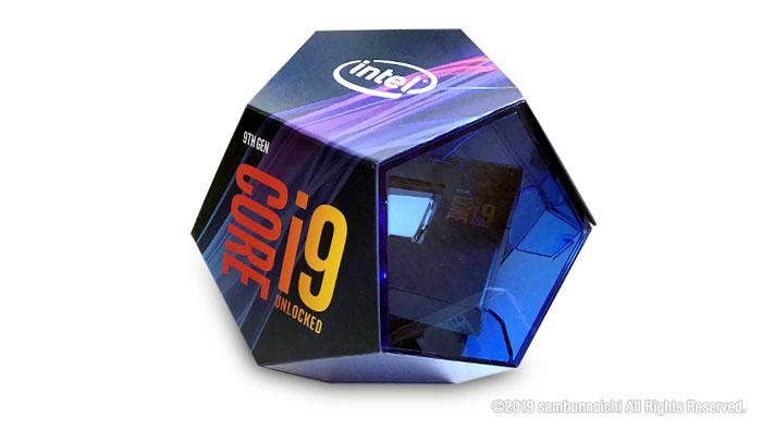 Core-i9-9900kパッケージ