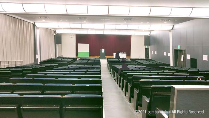 大ホール|大阪科学技術センター|倉庫管理主任者講習会
